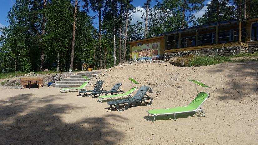 Отдых на озере Вуокса